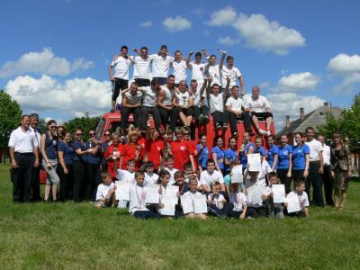 Tűzoltó verseny 2013
