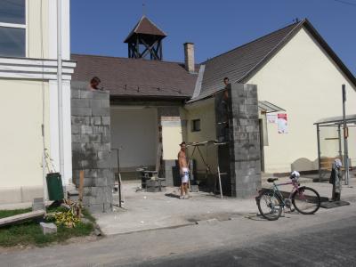 Tűzoltószertár bővítés 2011